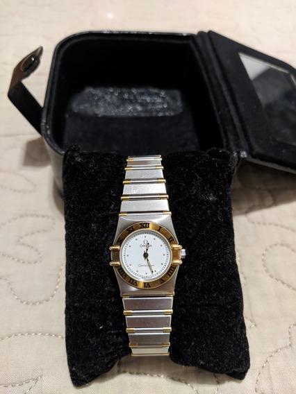 Relógio Omega Constellation Feminino | Ouro E Aço - 23mm