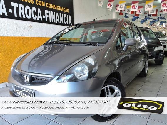 Honda Fit Lx Automático 1.4 Completo Financiamos E Trocamos