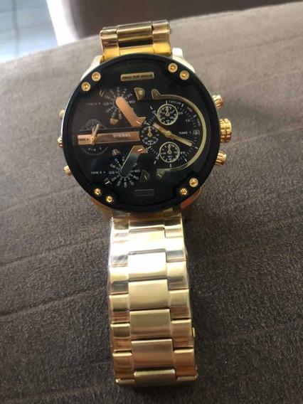 Relógio Diesel Dz7333 Dourado Masculino