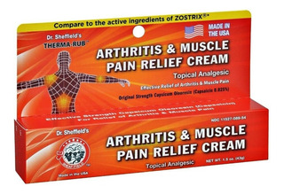 Crema Para La Artritis Y Dolores Musculares Dr. Therma Impor