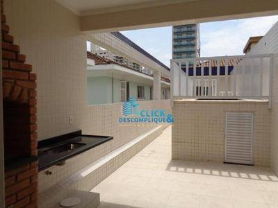 Casa Duplex 4 Dormitórios Para Locação, Boqueirão, Santos. - Ca0022