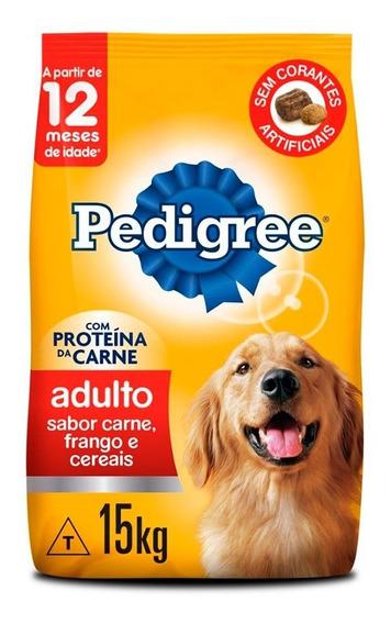 Pedigree Carne, Frango E Cereais 15kg