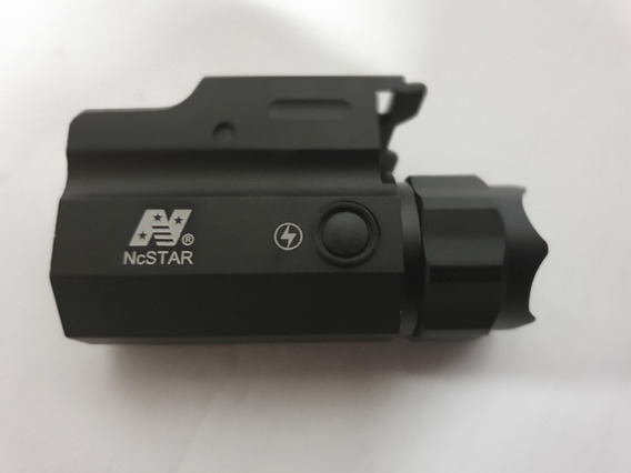 Lampara Tactica Ncstar Riel Glock 25 Sig Sauer Led Estrobo