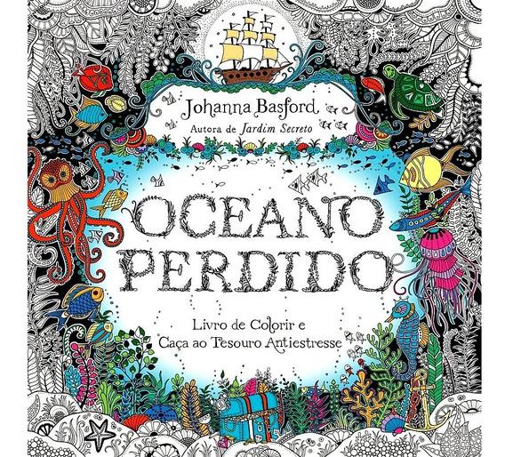 Oceano Perdido Livro De Colorir E Caça Ao Tesouro Johanna