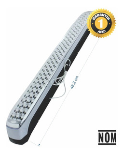 Lampara Emergencia Led 4w, 90 Leds, Recargable 48 Cm Jwj (jlmg-05)