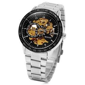 Relógio De Pulso Mecânico Automático Winner