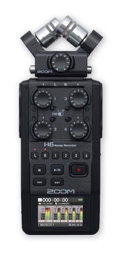 Zoom H6 All Black Grabadora