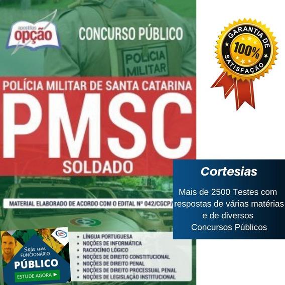 Apostila Soldado Pm Sc - Polícia Militar De Santa Catarina
