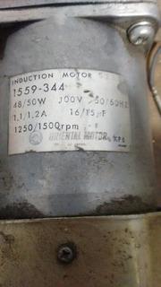 Motoreductor Japones Sólido 1250 Rpm +reducción