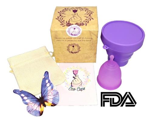 Kit Completo Copa Menstrual Certificada Fda. Eco Cup
