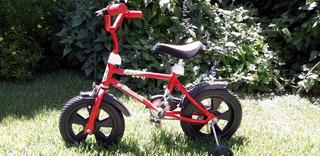 Bicicleta Rodado 12 Niño Completa