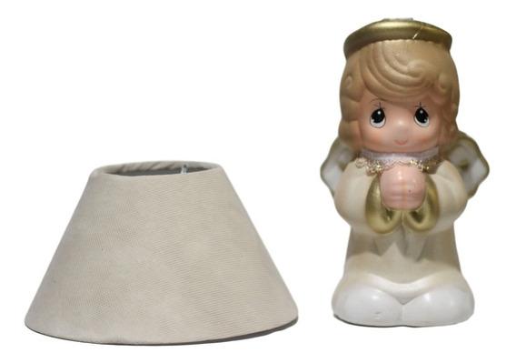16 Lámpara Centro De Mesa Bautizo Baby Shower Recuerdo Angel