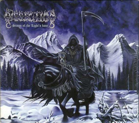 Cd Dissection Storm Of The Light Black Metal Death Metal