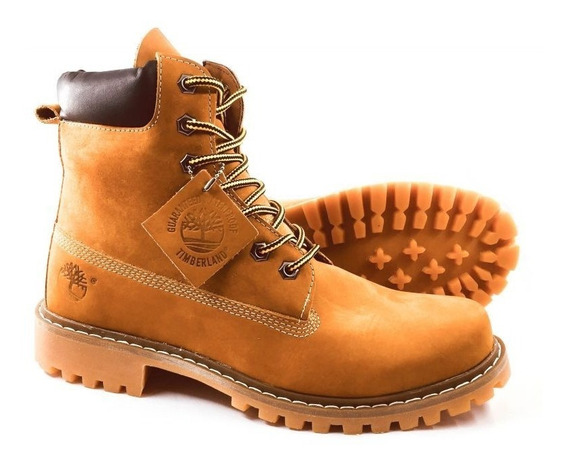 Bota Timberland Masculina Yellow Boot 6 Linha Premium Top