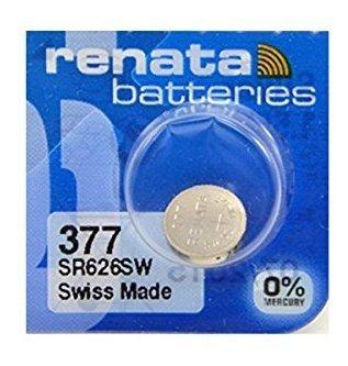 Renata 377 - Paquete De 5 Baterias De Oxido De Plata