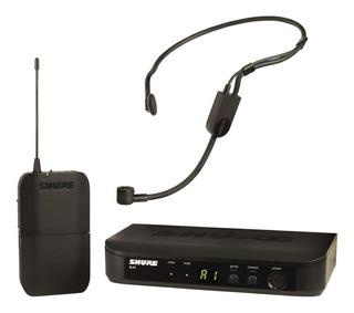 Micrófono con accesorios Shure BLX14/P31 condensador cardioide