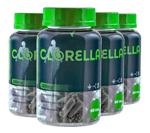 Clorella Eleve Complemento Detox Tratamento 80 Dias