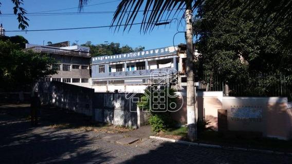 Galpão À Venda, 500 M² Por R$ 400.000,00 - Baldeador - Niterói/rj - Ga0008