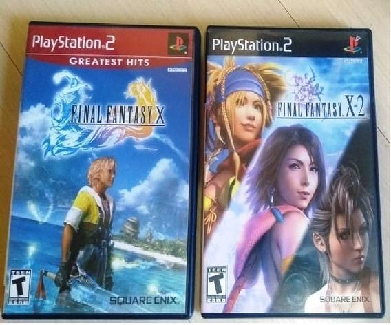 Final Fantasy X E X-2 Original Para Ps2