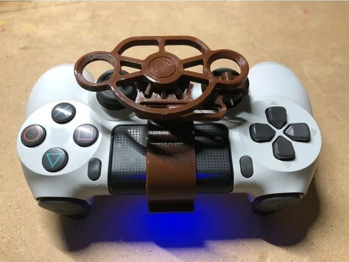 Imagen 1 de 6 de Mini Volante Para Consola Ps4/ Playstation 4