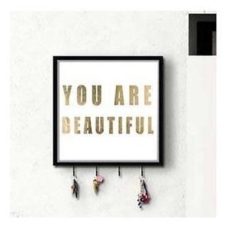 Ptm Eres Hermosa Pared Perchero