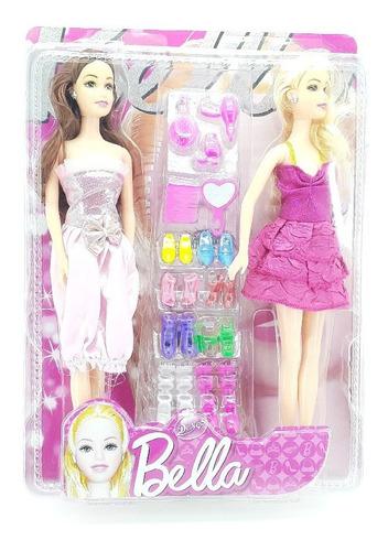 Barbie Muñeca Bella Para Niñas X2und