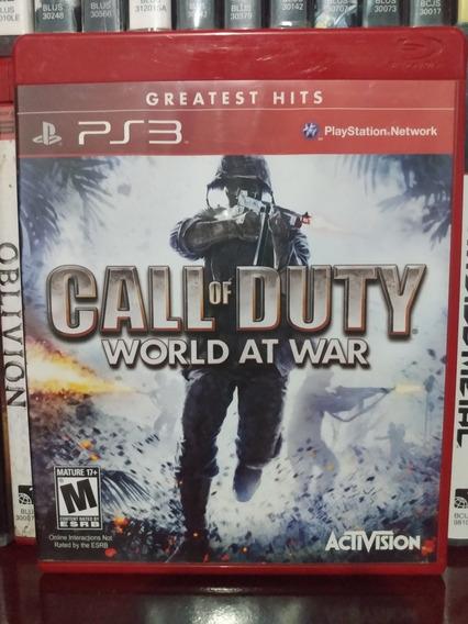 Call Of Duty World At War Ps3 Parcelamento Sem Juros