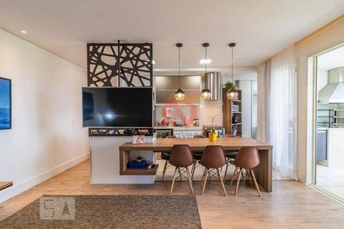 Imagem 1 de 18 de Apartamento Com 3 Dormitórios À Venda, 94 M² Por R$ 890.000,00 - Alphaville - Santana De Parnaíba/sp - Ap22016