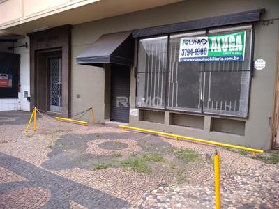 Salão Para Aluguel Em Cambuí - Sl004637