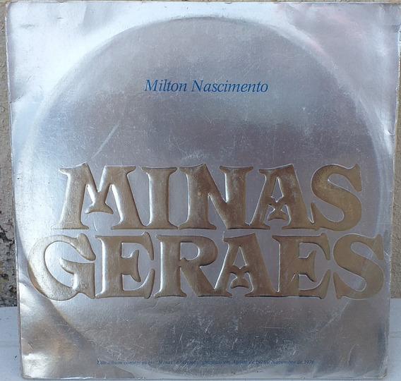 Lp Milton Nascimento - Minas Gerais (1976) 2x Lp