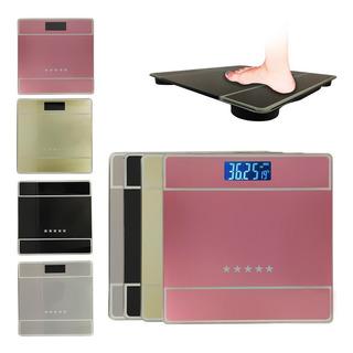 Balança Digital Vidro Temperado 180kg Para Banheiro Academia