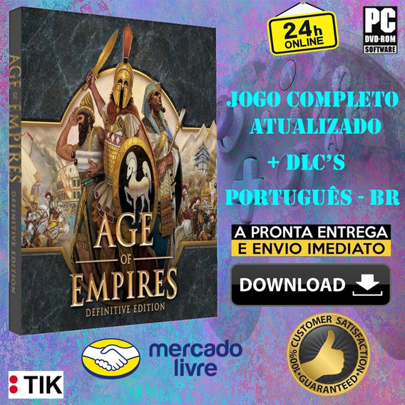 Age Of Empires Definitive Edition -pc-ultra Gráficos-complet
