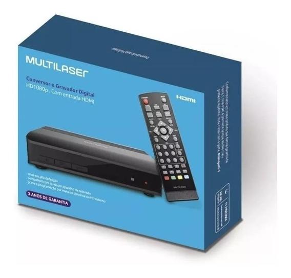 Conversor E Gravador De Tv Digital, Multilaser Re207.