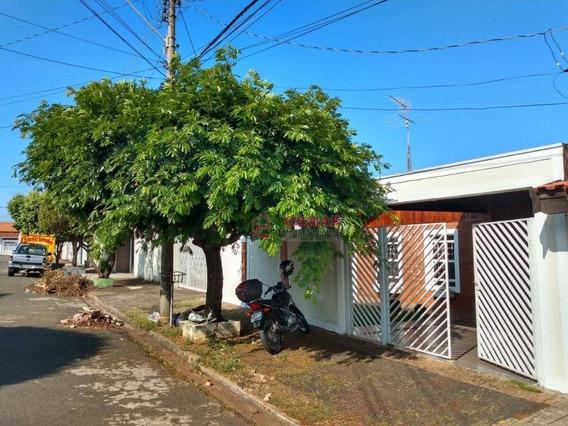 Casa Com 3 Dormitórios À Venda, 150 M² Por R$ 315.000 - Jardim João Paulo Ii - Sumaré/sp - Ca0921