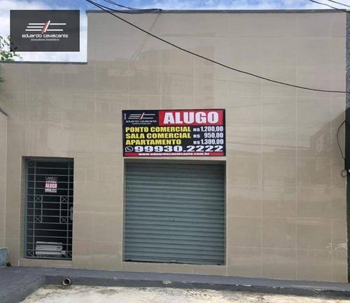 Ponto Para Alugar, 15 M² Por R$ 1.000,00/mês - Aldeota - Fortaleza/ce - Pt0004