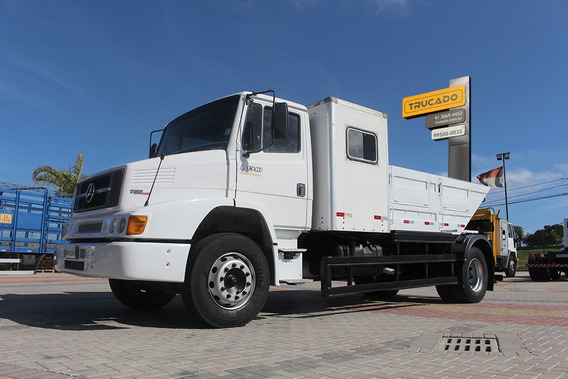 Mb 1318 2012 Caçamba Cabine Auxiliar = Mercedes Cargo Volks