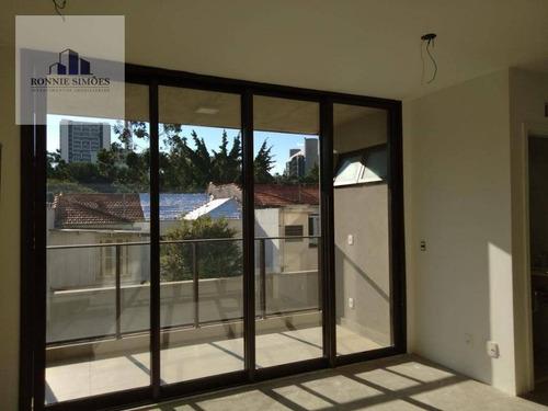 Imagem 1 de 13 de Apartamento À Venda Em Pinheiros, 1 Dormitório, 1 Sala Ampla, 1 Banheiro, 2 Vagas De Garagem, 47 M², São Paulo. - Ap0720
