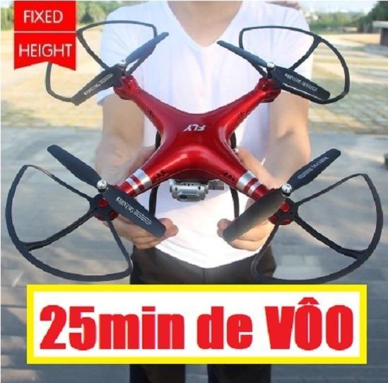Drone Discoverer-x6 Wifi Câmera Hd 720p 35x35cm Vôo25min