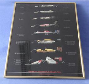 Poster Honda Fórmula 1 - Senna Piquet Lotus Mclaren
