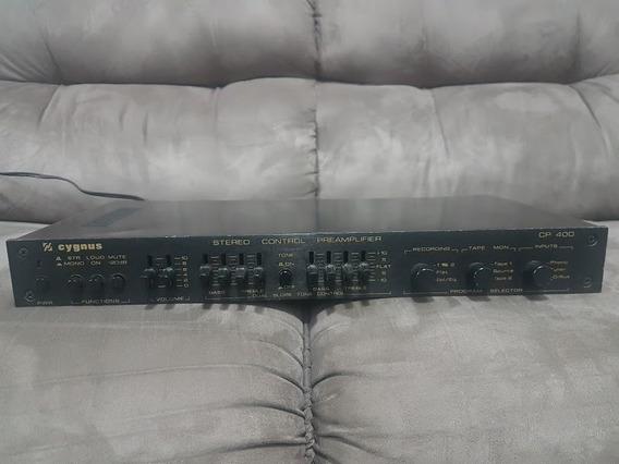 Pré Ampificador Cygnus Cp-400 Funcionando (ler A Descriçã)