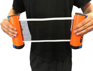Red Ping Pong Tennis De Mesa Adaptable Portable Juego