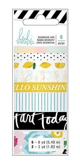 Fita Decorativa Adesiva Washi Tape Playful Heidi Swapp