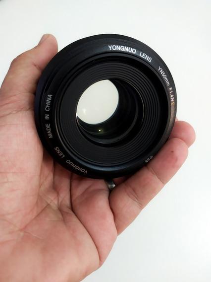 Lente Yongnuo 50mm 1.4 Nikon