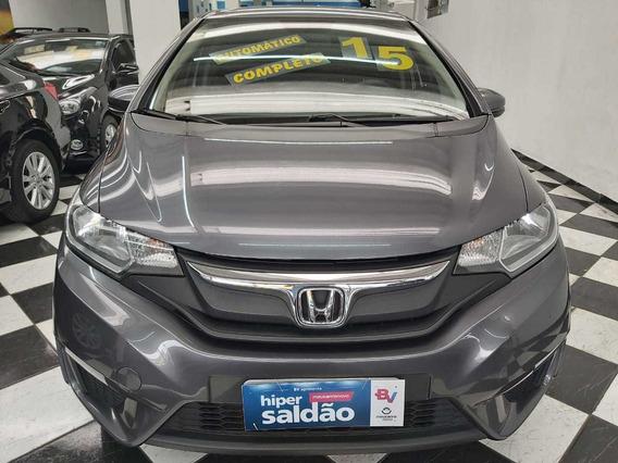 Honda Fit 1.5 Lx Automático 2015 Seg Dono Financiamento 60x