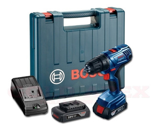 Taladro Atornillador Bosch 18v 13mm Maletin 2 Baterias 1,5ah
