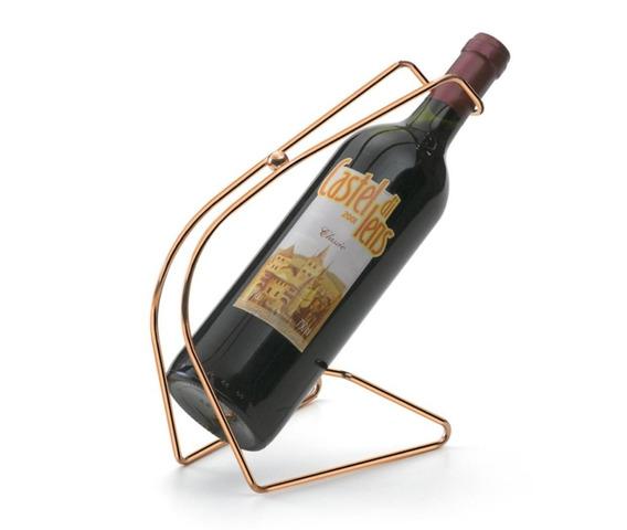 Suporte Para Garrafa De Vinho Alça Porta Vinho De Mesa Servi