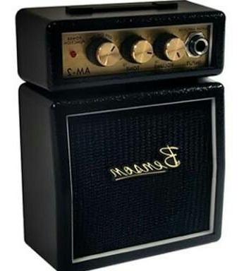 Mini Amplificador Para Guitarra Benson Preto
