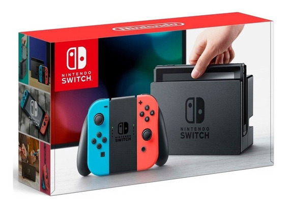 Nintendo Switch 32gb Neon Blue Red Bivolt
