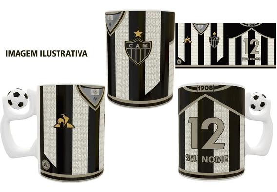 Caneca Atlético Mineiro Personalizada Com Nome E Número