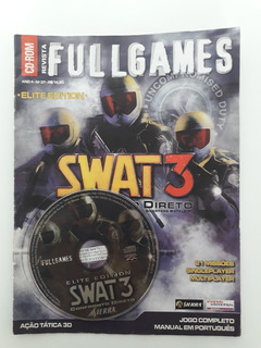 Revista + Cd Rom Full Games Swat 3 Elite Edition